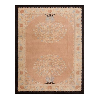 """Antique Chinese - Art Deco Rug 9'0""""x11'6"""" For Sale"""