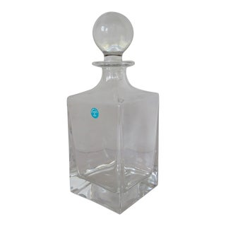 Tiffany & Co. Crystal Decanter For Sale
