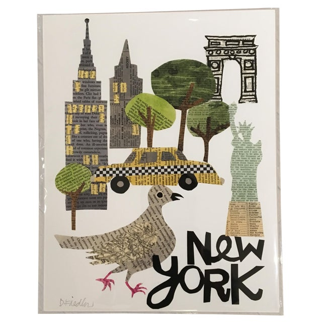 New York City Collage Print - Image 1 of 4