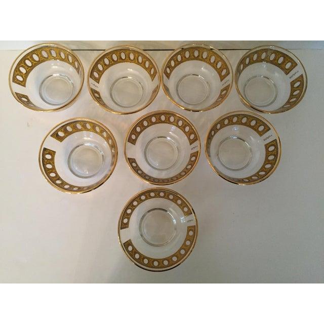 Culver Antigua 22k Gold Dessert Bowls - Set of 8 - Image 7 of 9