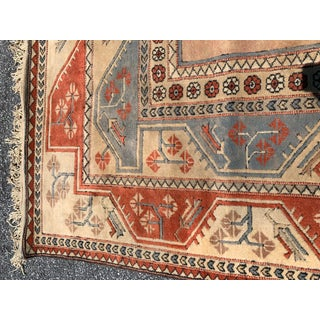 Milas Turkish Oushak Wool Rug - 6′7″ × 9′6″ Preview