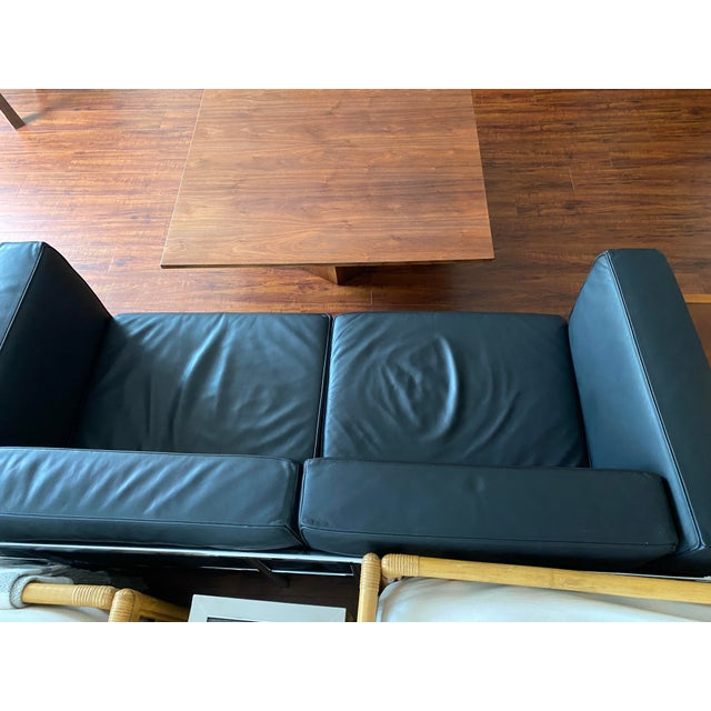 Mid-Century Danish Modern Walnut Square Coffee Table Octagonal Base For Sale - Image 11 of 11