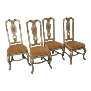 Drexel Heritage Chinese Chippendale Dining Chairs For Sale