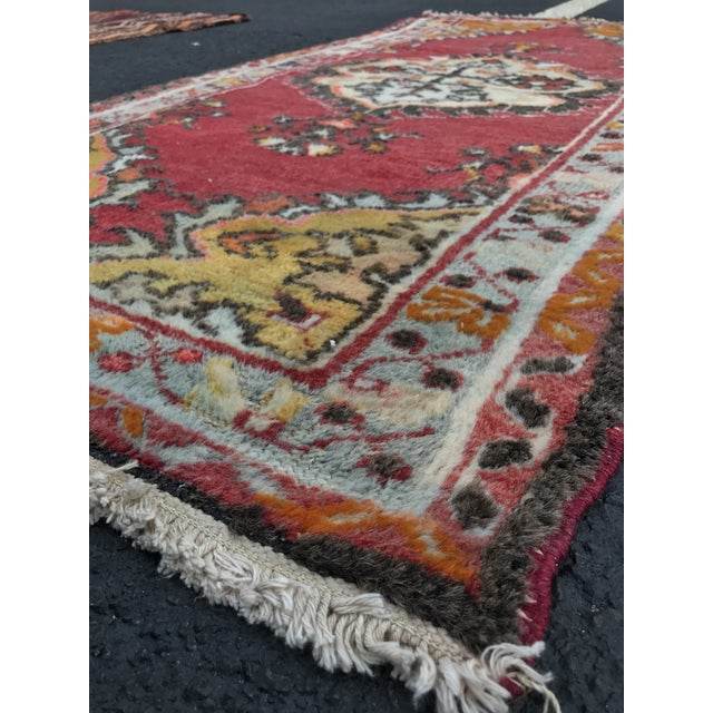 "Vintage Turkish Anatolian Rug - 2'8""x5'4"" - Image 9 of 11"