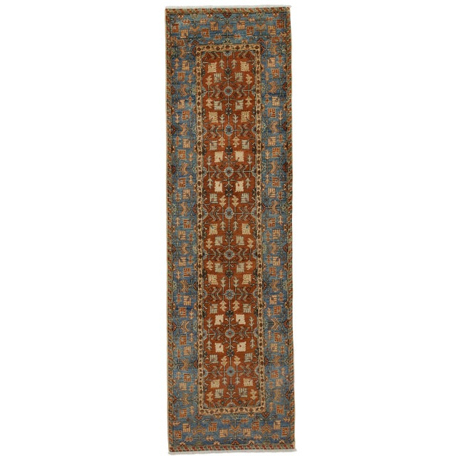 """New Serapi Hand Knotted Runner - 2'9"""" x 9'9"""" - Image 1 of 3"""