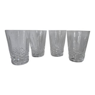 1970s Waterford Juice Glasses - Set of 4 For Sale