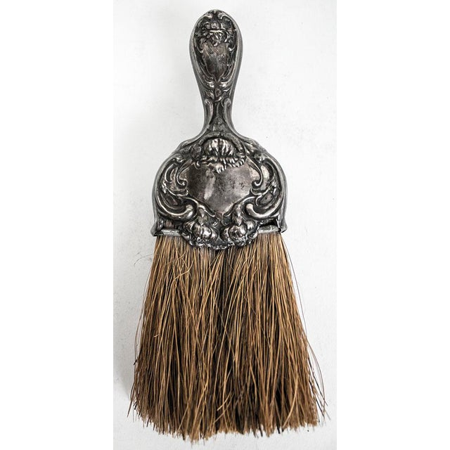Art Nouveau Sterling Silver Whisk Table Crumb Brush For Sale In Las Vegas - Image 6 of 6
