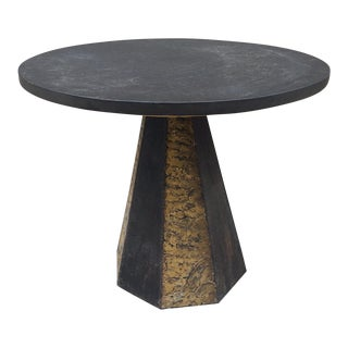 Paul Evans Round Slate Top Table
