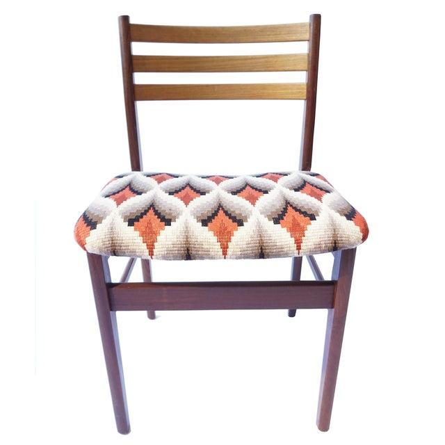 Danish Modern Teak & Beech Chairs - Set of 6 - Image 2 of 7