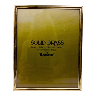 Bowon Solid Brass Photo Frame For Sale