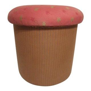Rare! Unique Muffin Top Ottoman Seat