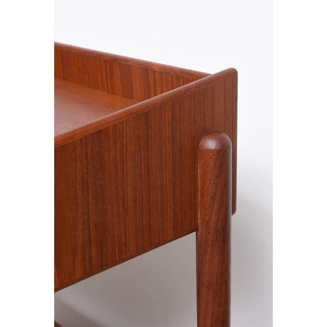 1960s 1960s Danish Teak Side Tables by Borge Mogensen for Soberg Moblefabrik - a Pair For Sale - Image 5 of 11