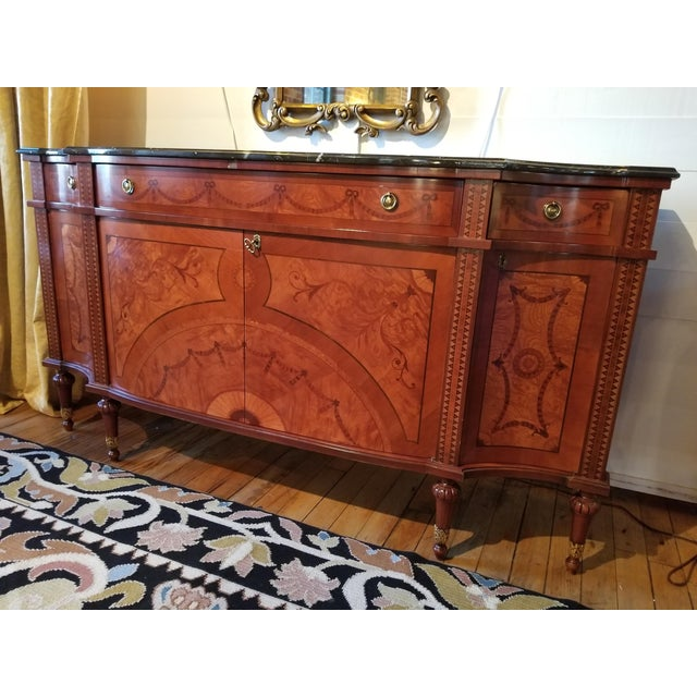 This scrumptious sideboard graced the 30th floors area of the Waldorf Towers Suites in the historic and famed Waldorf...