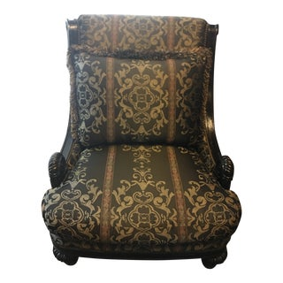 Marge Carson Huntington Manor Lounge Chair For Sale