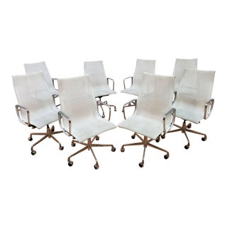 Charles Eames for Herman Miller Conference Room Office Chairs - Set of 8 For Sale