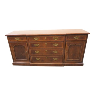 18th Century Henredon Portfolio Mahogany Sideboard For Sale
