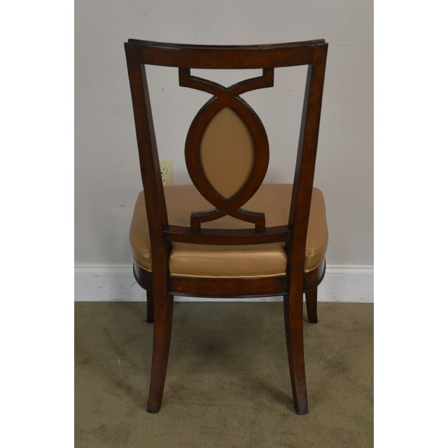 Regency Classic Modern Style Set 6 Dining Chairs For Sale In Philadelphia - Image 6 of 12