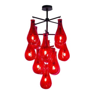 The Drop Chandelier by Veronese For Sale