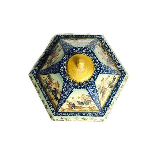 Vintage Persian Ornate Bone Trinket Box - Image 5 of 6