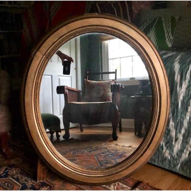 Early 20th Century Antique Framed Gold Mirror For Sale - Image 10 of 10