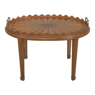 Satinwood English Style Butler Style Coffee Table