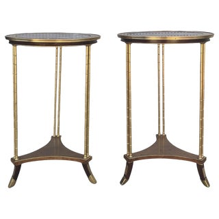 19th Century Adam Weisweiller Gueridon Tables - a Pair For Sale