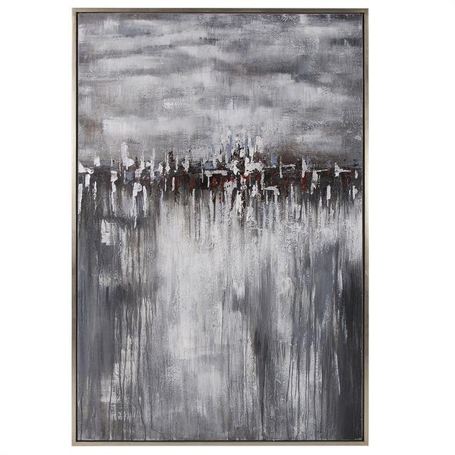 Kenneth Ludwig Chicago In the Moonlight Painting For Sale In Chicago - Image 6 of 6