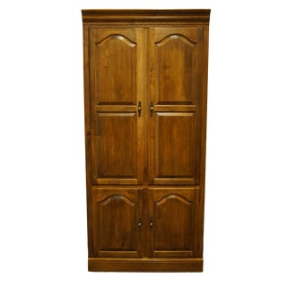 "Ethan Allen Circa 1776 Solid Maple Colonial Style 36"" Media Armoire / Wall Unit 18-9027 - 218 Finish For Sale"