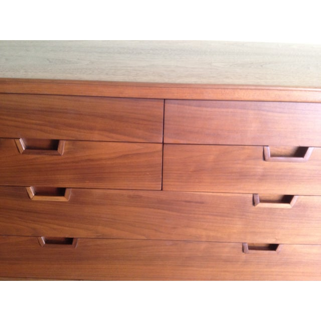 Mount Airy Walnut Dresser - Image 5 of 7