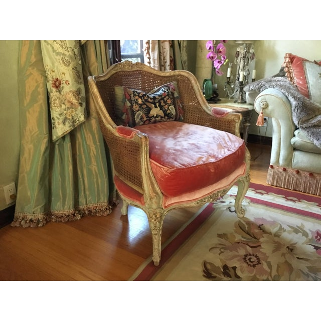 Late 18th Century French Cane Bergere Chairs- a Pair For Sale - Image 10 of 13