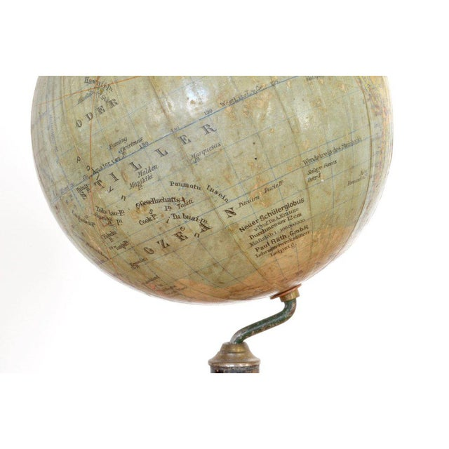 Early 20th C. German Antique Globe For Sale - Image 4 of 6