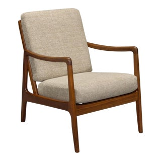 1960s Danish Modern Ole Wanscher for France & Son Teak Armchair For Sale