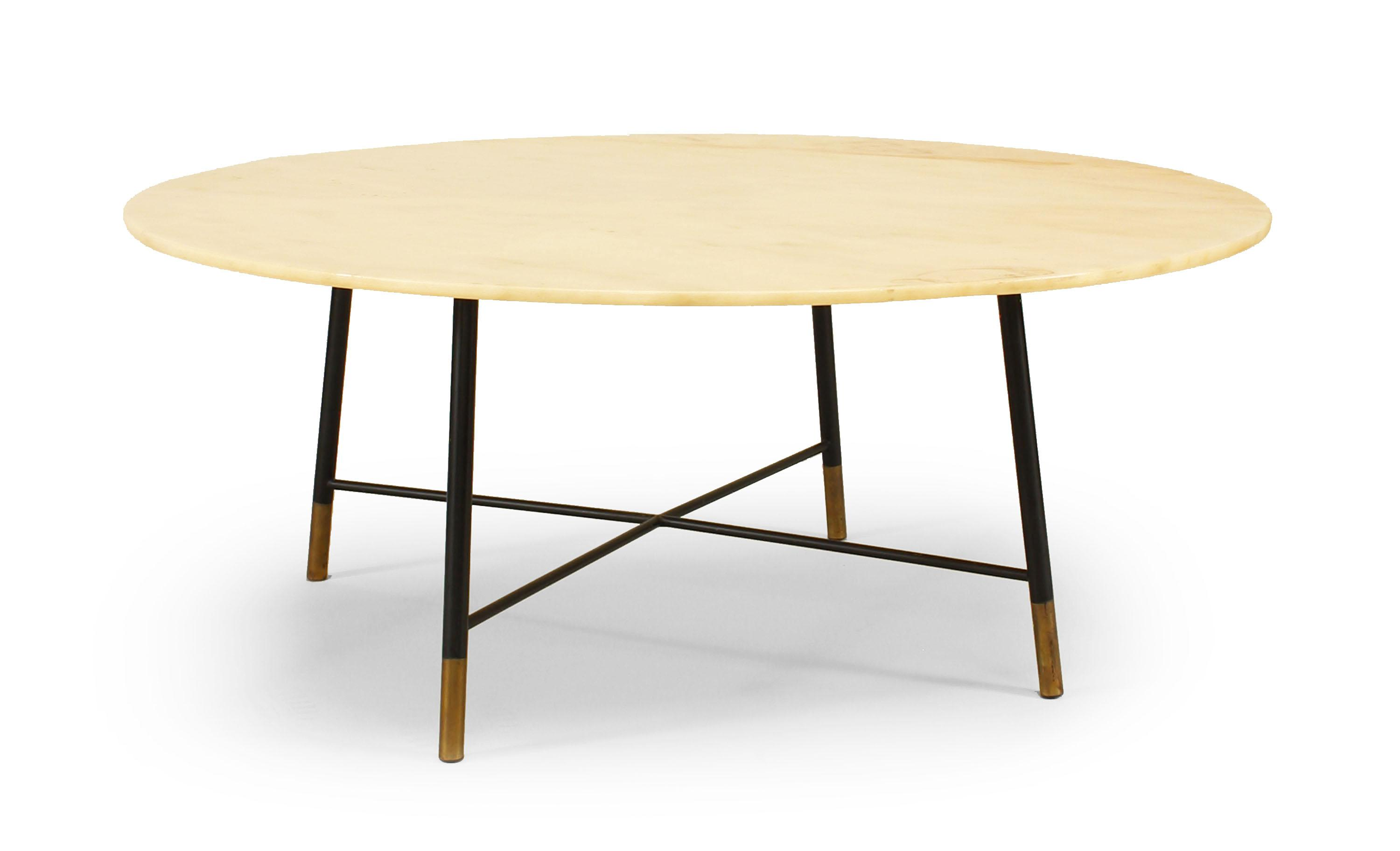 High End Italian Mid Century Modern Coffee Table Decaso