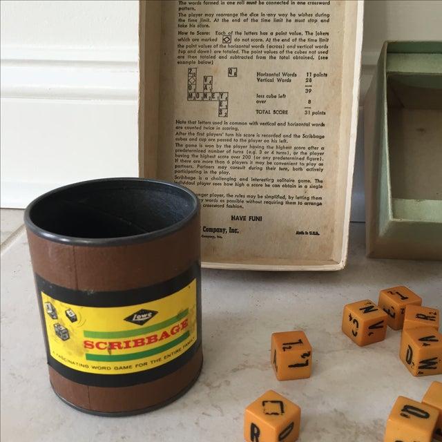 1963 Original Scribbage Word Game For Sale - Image 9 of 9