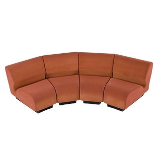 Don Chadwick Modular Curved Wedge Sectional Sofa Couch for Herman Miller For Sale