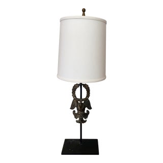19th Century Neoclassical French Empire Style Lamp For Sale