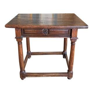 Antique Spanish End Table, circa 1820