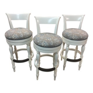 Drexel Tribute Bar & Game Room Stools- Set of 3 For Sale