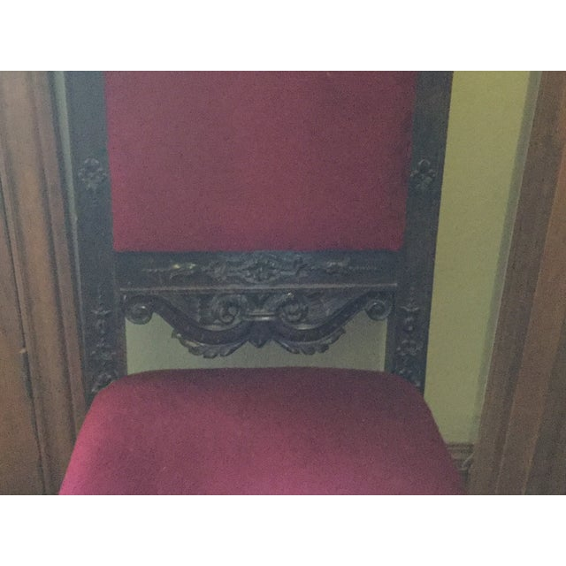 Scottish Farthingale Chairs- 2 For Sale - Image 6 of 10