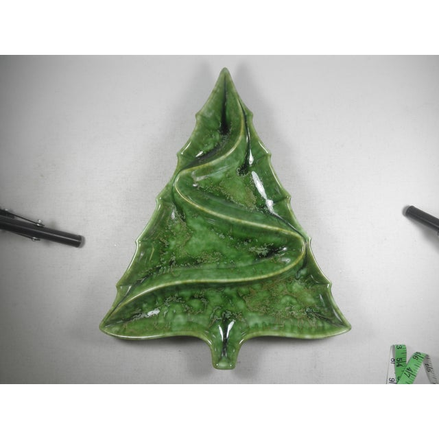Christmas Tree Pottery Divided Dish - Image 2 of 4