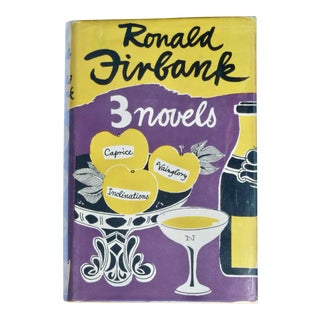 1951 Three Novels Book by Ronald Firbank For Sale