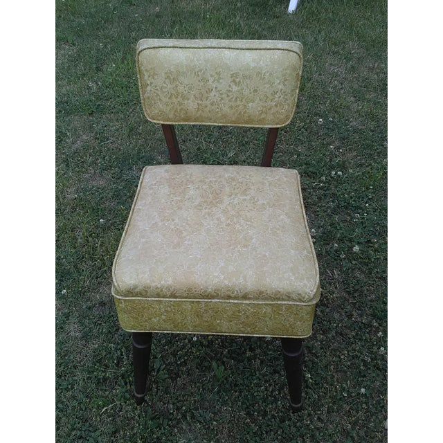 Vintage Lift Seat Sewing Chair - Image 3 of 9