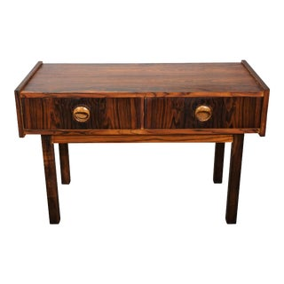 Original Danish Mid Century Rosewood Side Table / Dresser - Birk For Sale