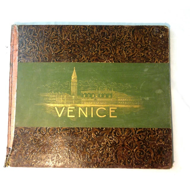 """""""Venice, 1889"""" Illustrated Hardcover Book For Sale - Image 12 of 12"""