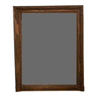 French Gilt Mirror For Sale