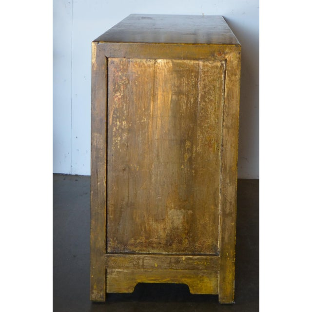 Art Deco 2000s Asian Modern/Art Deco Lacquer Cabinet For Sale - Image 3 of 7