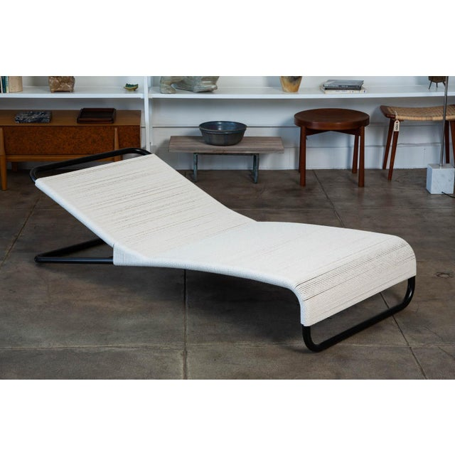 Metal Van Keppel-Green Chaise Lounge For Sale - Image 7 of 11