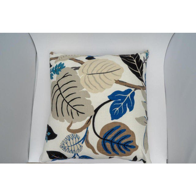 Bespoke Floral Pillows - a Pair For Sale - Image 10 of 11
