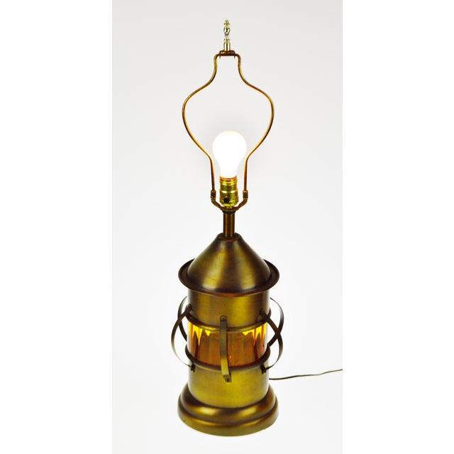 Vintage Lantern Style Table Lamp Chairish