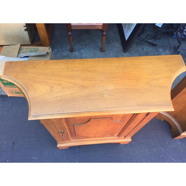 Cherry Wood Baker Furniture Chests a Pair For Sale - Image 7 of 11